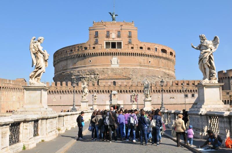 Castillo de Sant Ángel foto de archivo libre de regalías