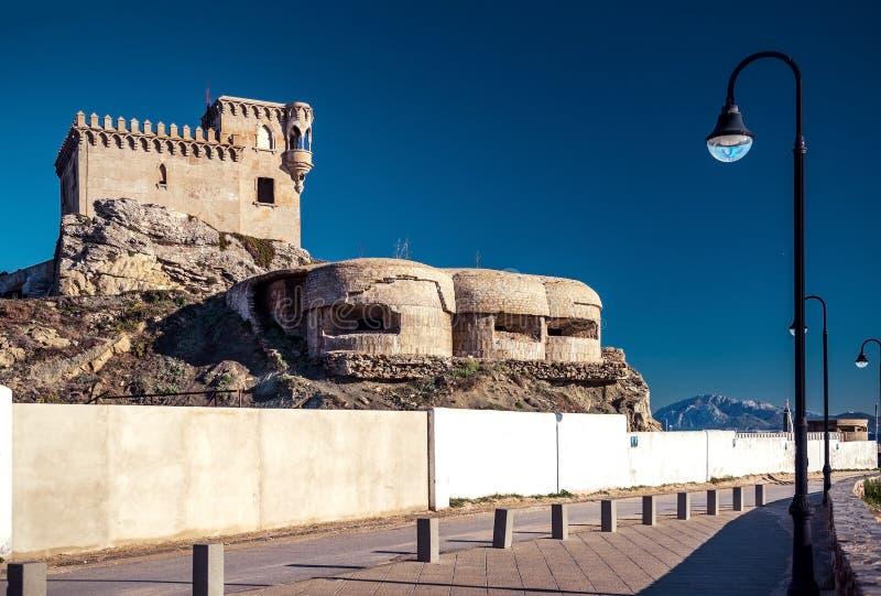 Castillo de Santa Catalina fotografia stock libera da diritti