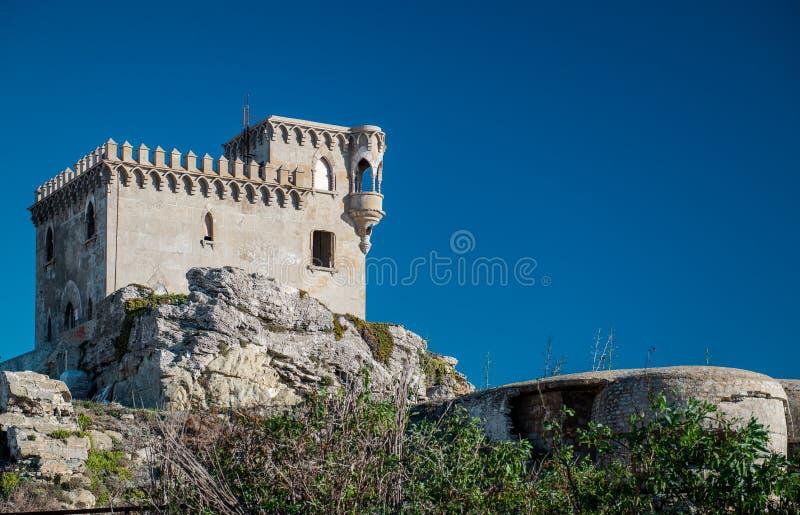 Castillo de Santa Catalina fotografia stock