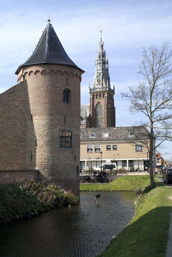 Castillo de Schagen foto de archivo libre de regalías