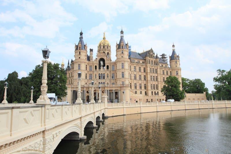 Castillo de Schwerin, Alemania foto de archivo
