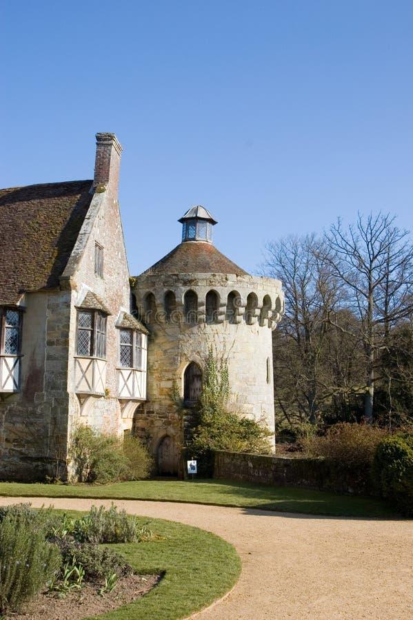 Castillo de Scotney imágenes de archivo libres de regalías
