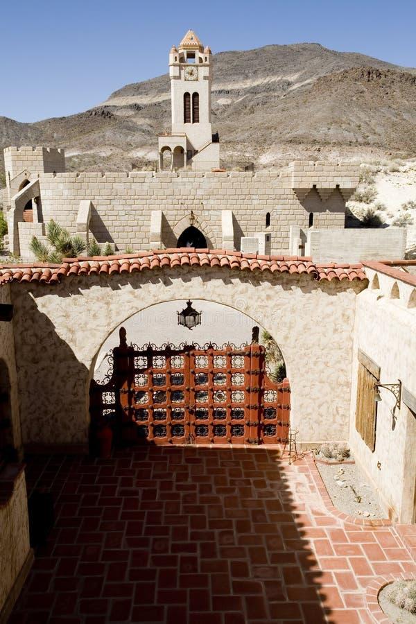 Castillo de Scotty, Death Valley imágenes de archivo libres de regalías