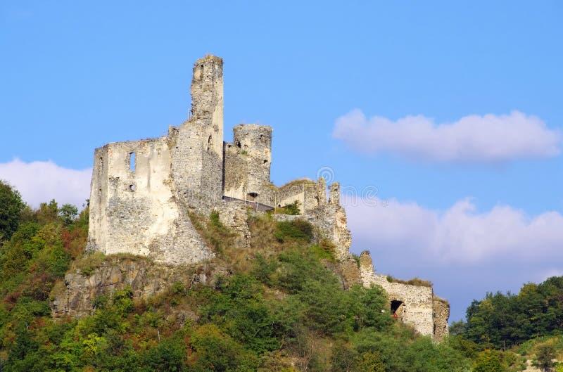 Castillo de Senftenberg imagenes de archivo