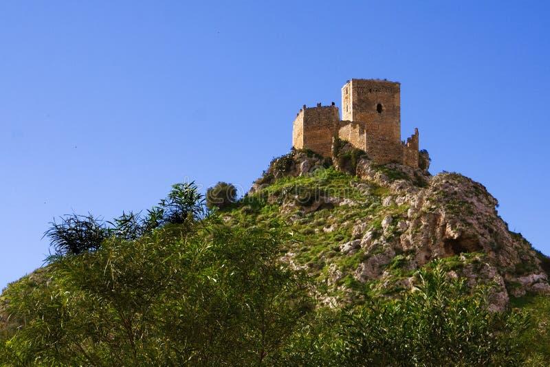 Castillo de Serravalle imagen de archivo