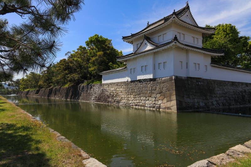 Castillo de Shogunate en Kyoto foto de archivo libre de regalías