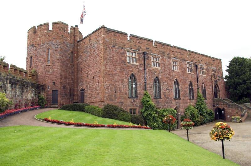 Castillo de Shrewsbury fotografía de archivo libre de regalías
