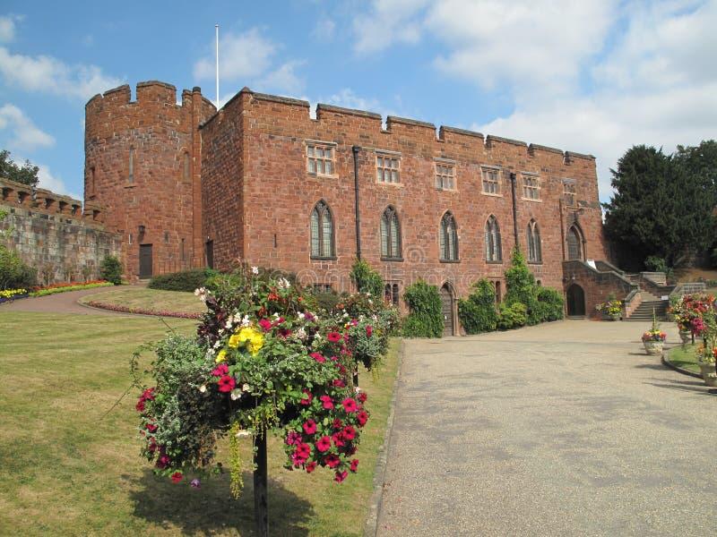 Castillo de Shrewsbury imágenes de archivo libres de regalías