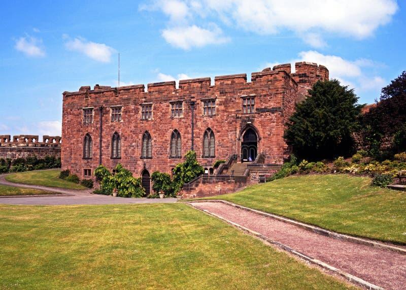 Castillo de Shrewsbury fotos de archivo