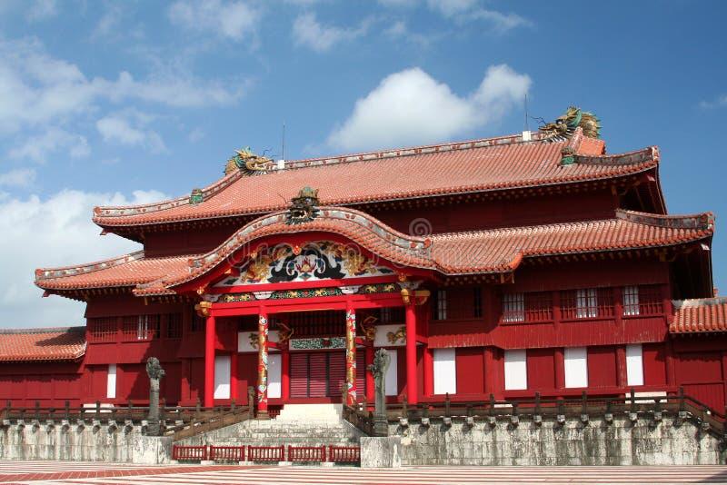 Castillo de Shuri foto de archivo