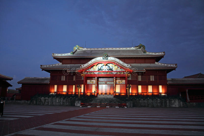 Castillo de Shuri (pasillo principal) fotografía de archivo libre de regalías
