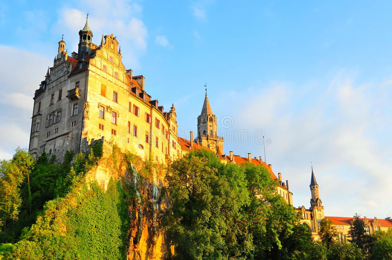 Castillo de Sigmaringen imagenes de archivo