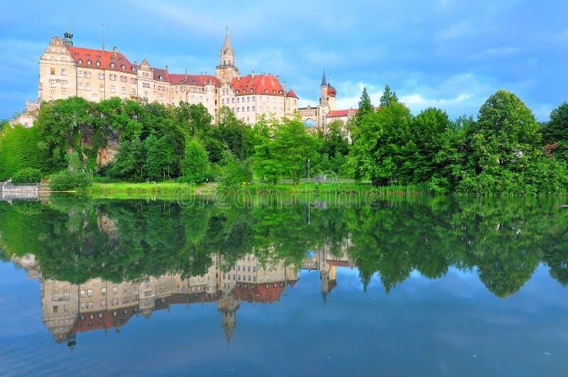 Castillo de Sigmaringen fotografía de archivo