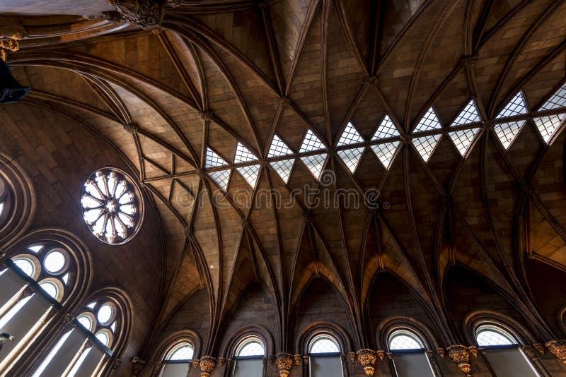 Castillo de Smithsonian fotografía de archivo
