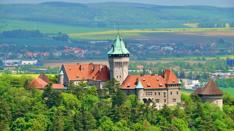 Castillo de Smolenice, Trnava foto de archivo