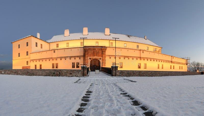Castillo de Spilberk en Brno fotos de archivo libres de regalías
