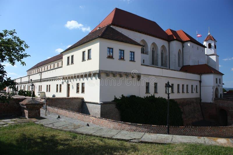 Castillo de Spilberk en Brno fotos de archivo