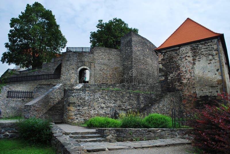 Castillo de Svojanov fotografía de archivo