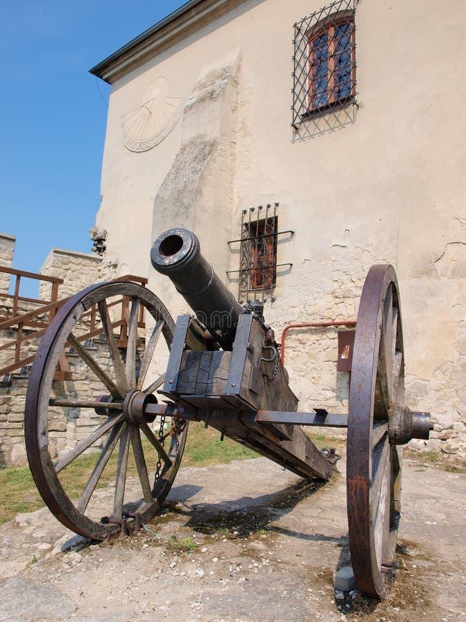 Castillo de Szydlow, Polonia imagen de archivo