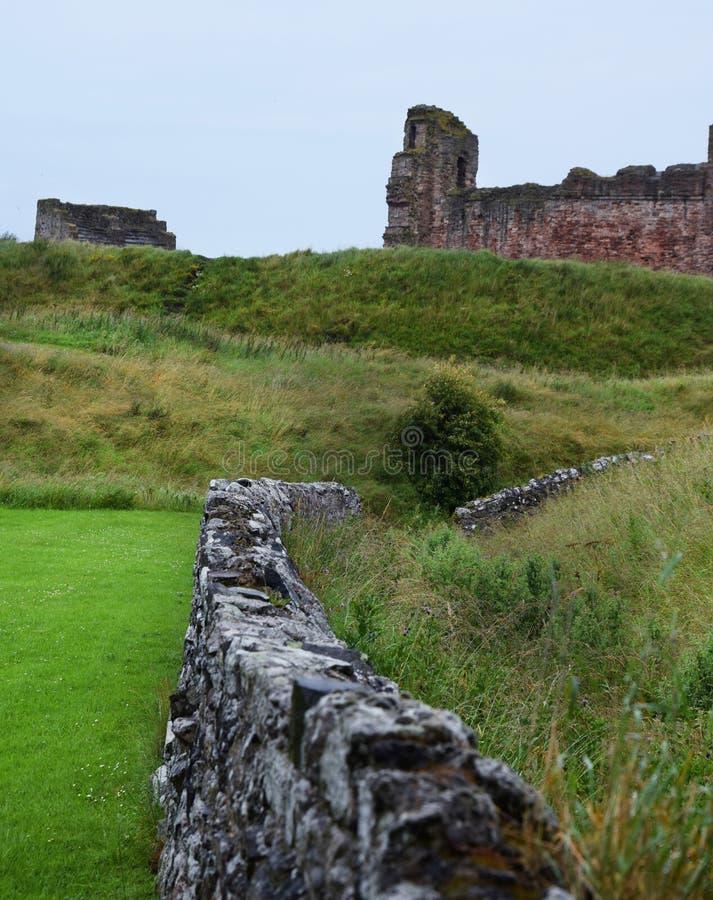 Castillo de Tantallon imagen de archivo