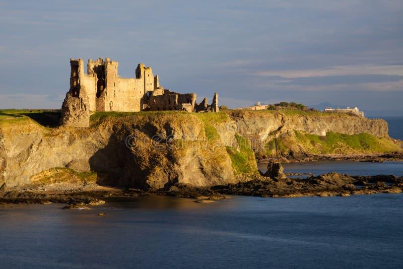 Castillo de Tantallon, Berwick del norte, Escocia fotografía de archivo libre de regalías