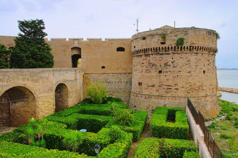 Castillo de Taranto imagen de archivo