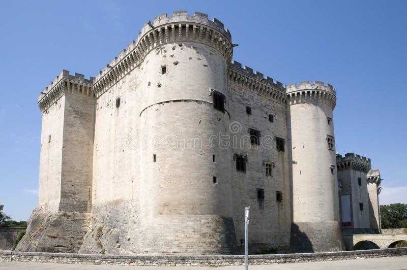 Castillo de Tarascon, Francia fotografía de archivo libre de regalías