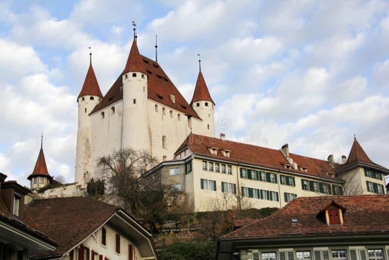 Castillo de Thun, cantón Berna, Suiza fotografía de archivo