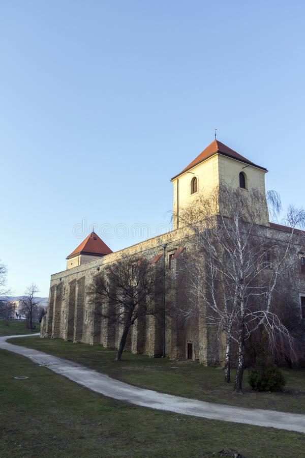 Castillo de Thury en Varpalota imagen de archivo
