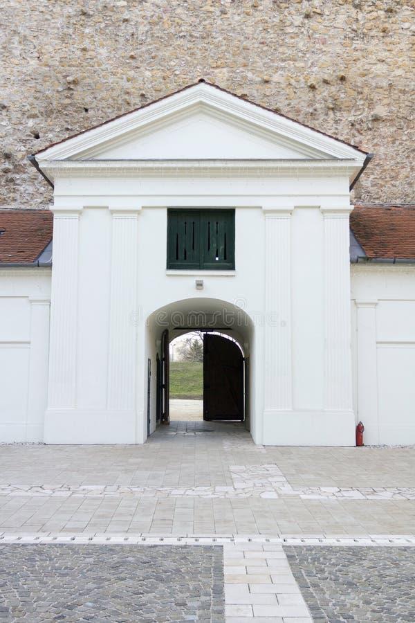 Castillo de Thury en Varpalota imagenes de archivo