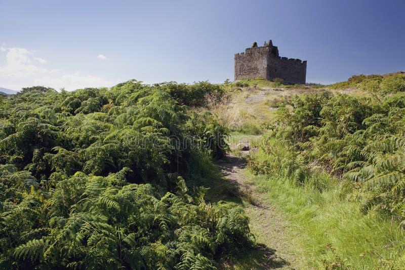 Castillo de Tioram fotografía de archivo