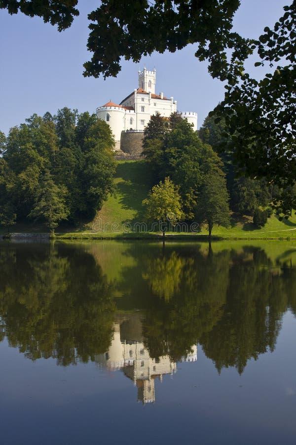 Castillo de Trakoscan imagenes de archivo