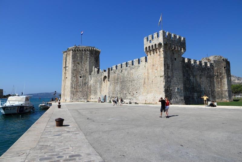 Castillo de Trogir fotografía de archivo libre de regalías