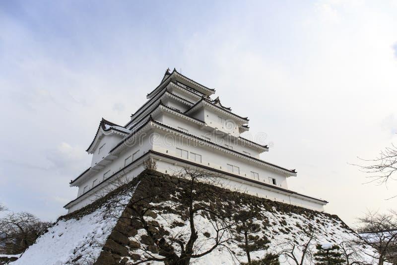 Castillo de Tsuruga foto de archivo