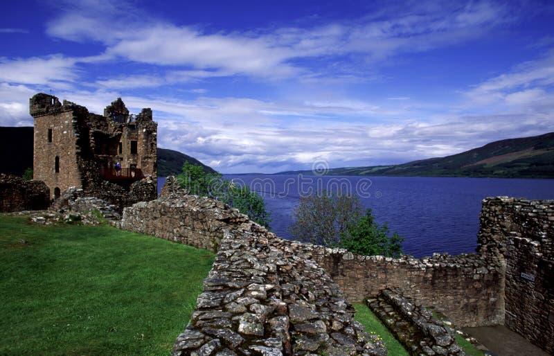 Castillo de Urquhart imagen de archivo libre de regalías
