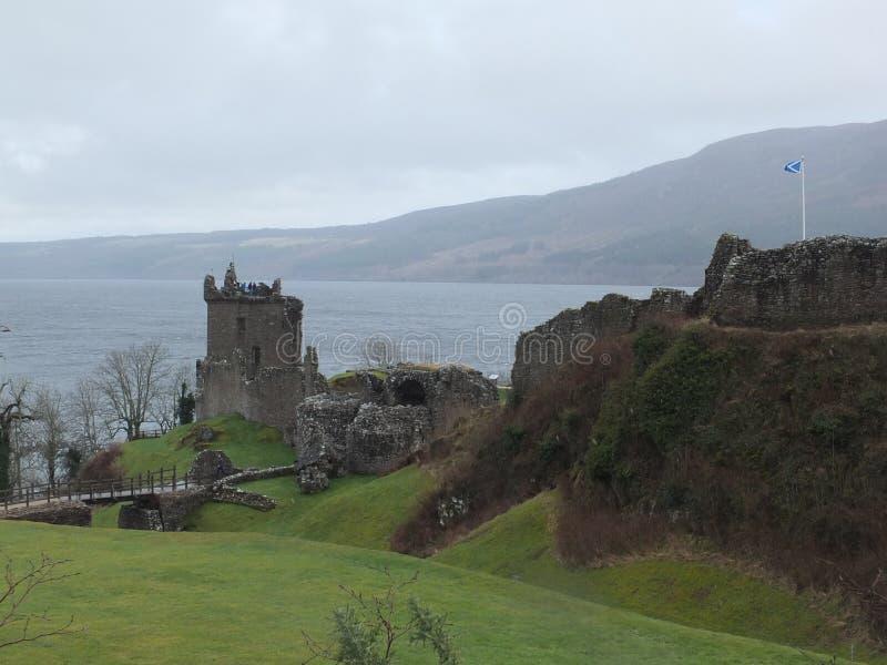Castillo de Urquhart fotografía de archivo libre de regalías