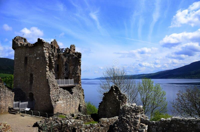 Castillo de Urquhart, Escocia foto de archivo libre de regalías
