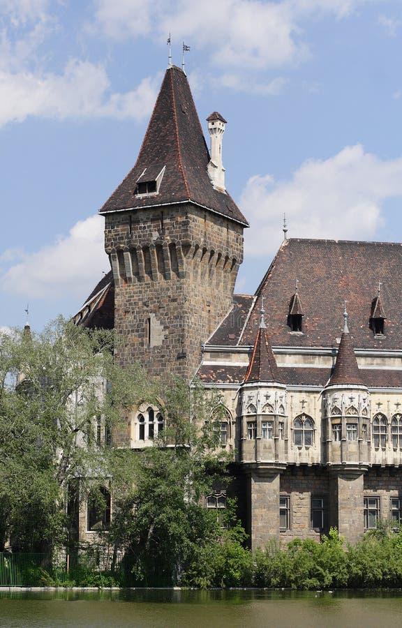Castillo de Vajdahunyad foto de archivo libre de regalías