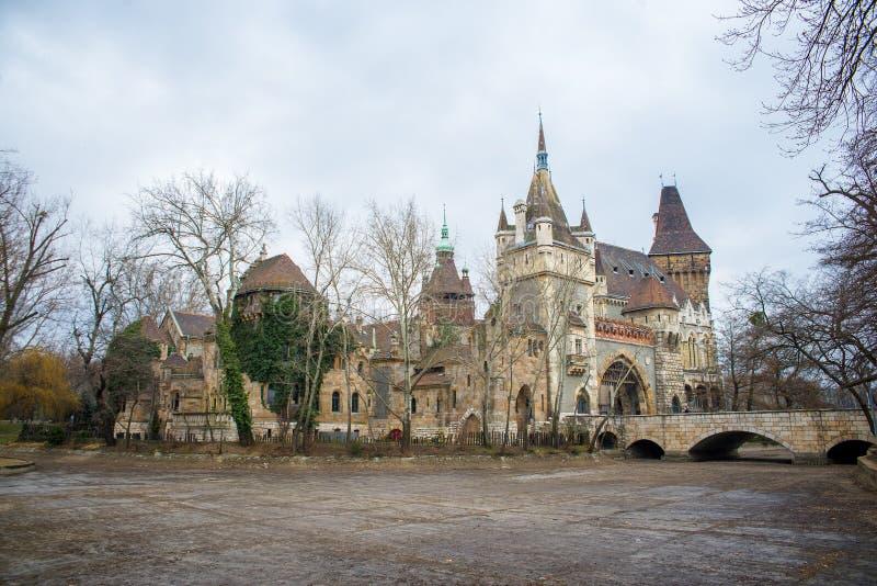 Castillo de Vajdahunyad fotos de archivo