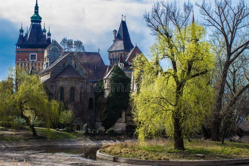 Castillo de Vajdahunyad imagen de archivo libre de regalías