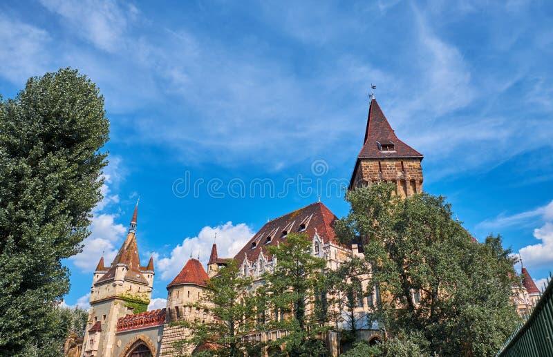 Castillo de Vajdahunyad en Budapest imágenes de archivo libres de regalías