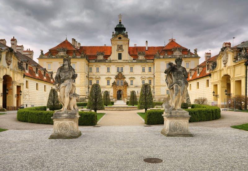 Castillo de Valtice en República Checa foto de archivo