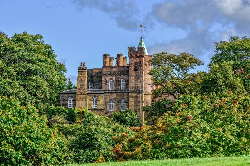 Castillo de Vanbrugh fotos de archivo