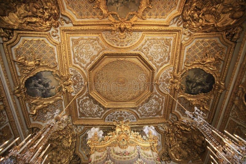 Castillo de Versalles imagen de archivo