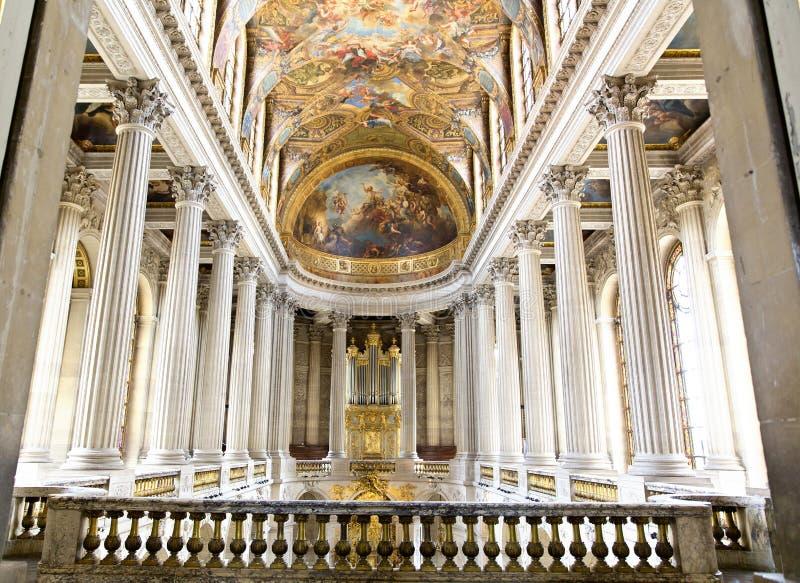 Castillo de Versalles, París, Francia imagenes de archivo