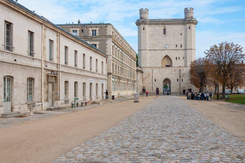 Castillo de Vincennes imagenes de archivo