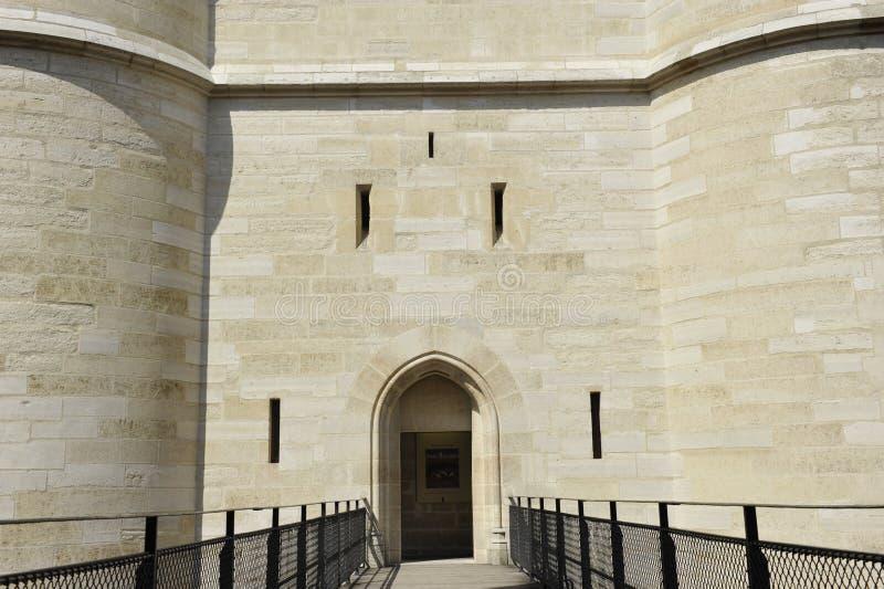 Castillo de Vincennes, cerca de París fotografía de archivo libre de regalías