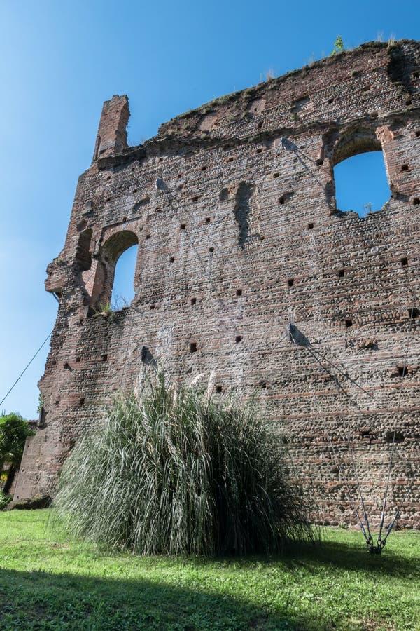 Castillo de Visconteo foto de archivo