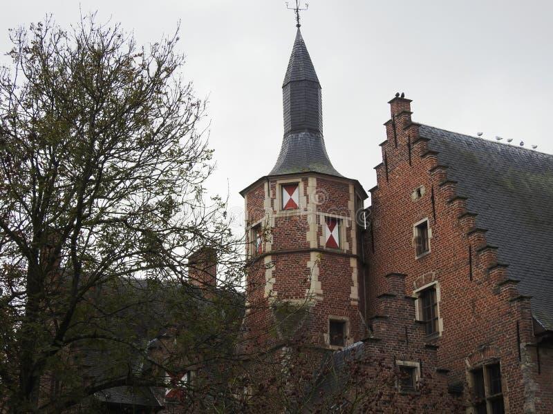 Castillo de Walburg - St Niklaas - Bélgica imágenes de archivo libres de regalías