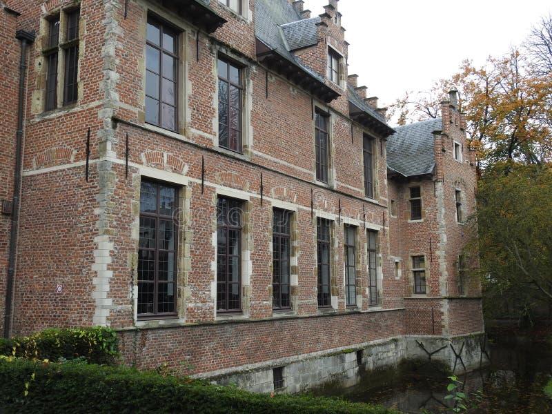 Castillo de Walburg - St Niklaas - Bélgica imagenes de archivo